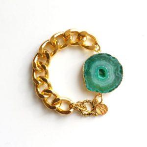 Green Pulsar Bracelet