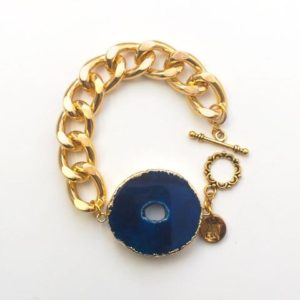 Blue Pulsar Bracelet