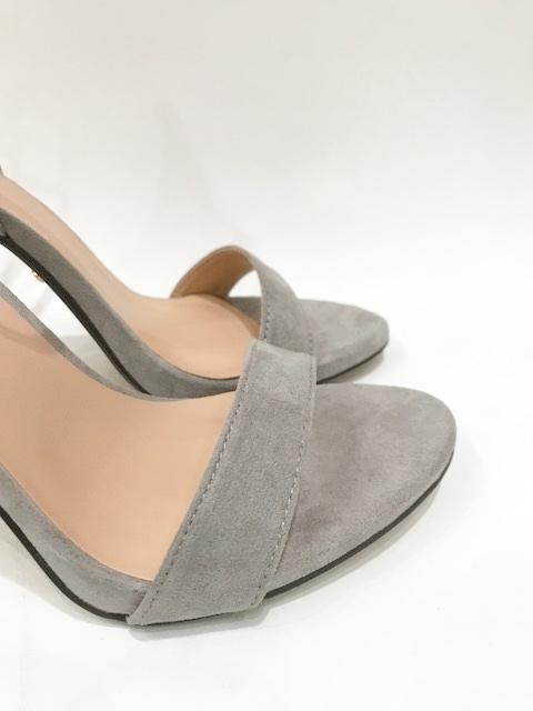 1fc920354e2 Grey Suede Ankle Strap Heels – Divine Boutique