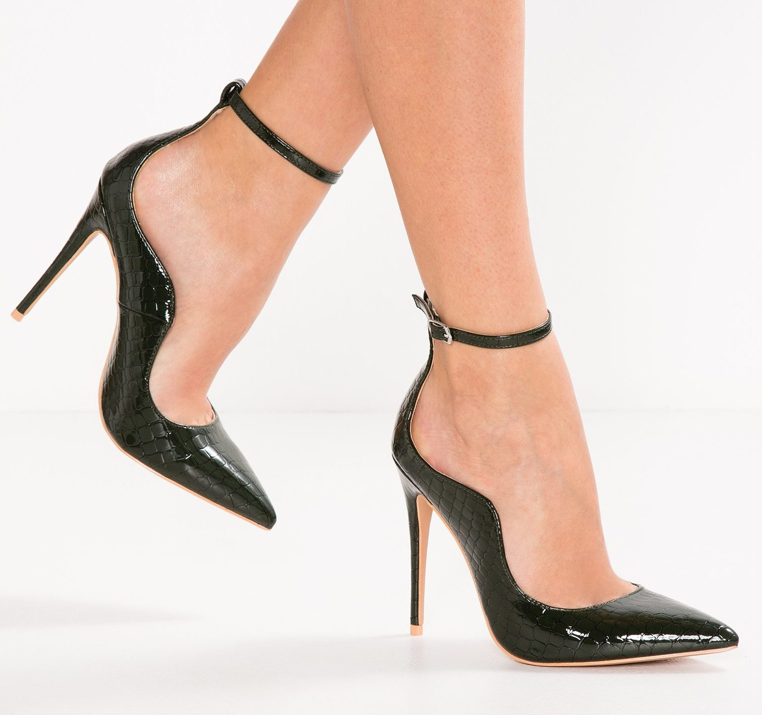 6f822d03619 Palm Curved Ankle Strap Green – Divine Boutique