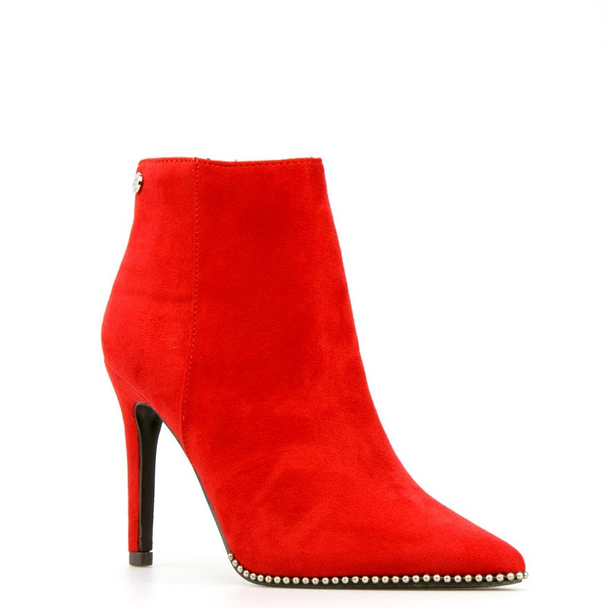 ff648686f05 Andrea Red Ankle Boot – Divine Boutique