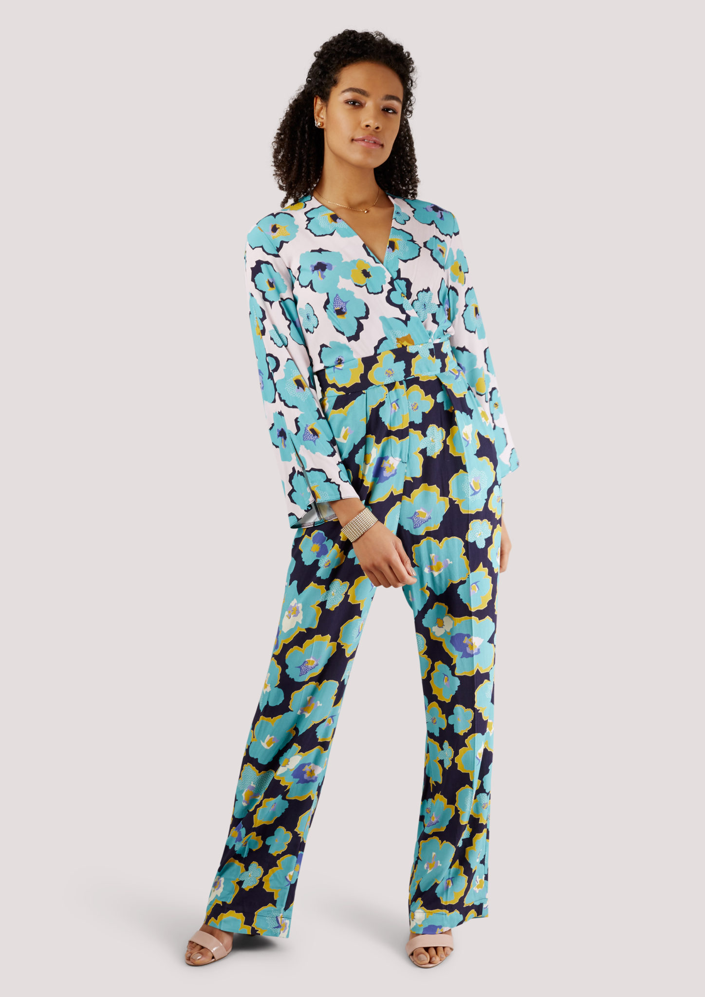 ed084ef8baf Floral Long Sleeve Jumpsuit – Divine Boutique
