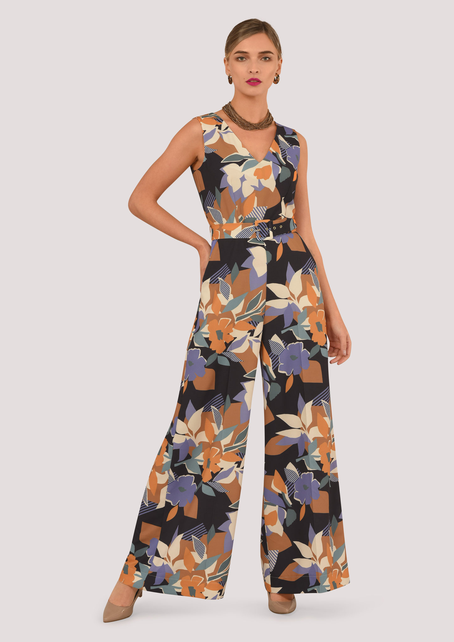 c78f33e7665 Floral Geo Jumpsuit – Divine Boutique