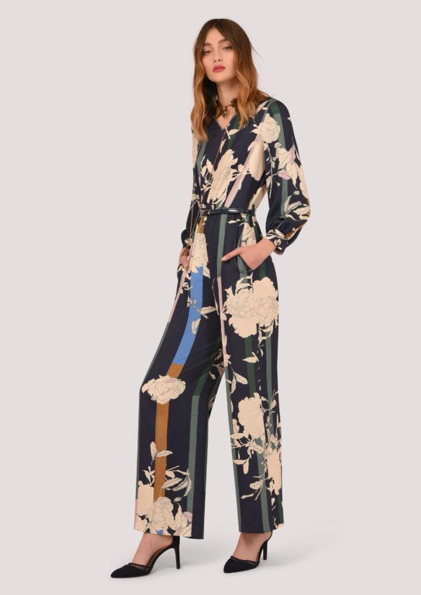 b5cbca9ec4c Puff Sleeve Print Jumpsuit – Divine Boutique