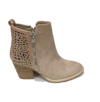 23d7821270a Sandra Boot In Sand. €65.00. Block heel ...